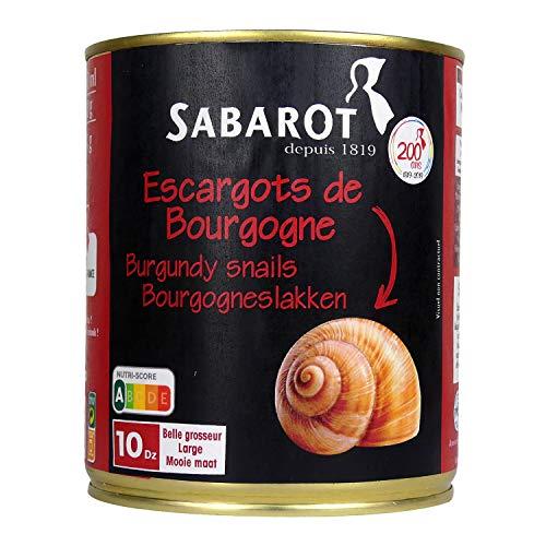 Sabarot - Escargots de Bourgogne 10 douzaines 465g