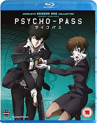 Psycho-Pass-Complete Series One Collection Blu-Ray [Edizione: Regno Unito] [Import]