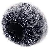 Pichidr-JP Blue Yeti マイク ウィンドジャマー ヘアリーウィンドスクリーン 風防 雑音防止 マイクカバー 抗菌 雑音低減 マイク アクセサリ