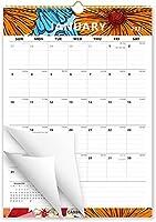 Cabbrix 6色グラフィティ壁カレンダー