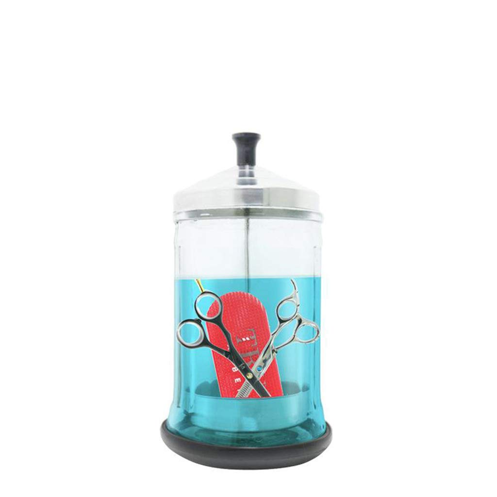 shamjina low-pricing 3Pcs Disinfection Jar Glass Sanitizer Bottle Clear Max 40% OFF