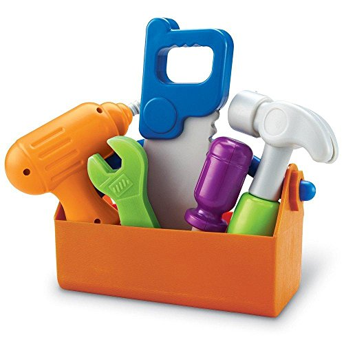 Learning Resources New Sprouts Fix It!, Fine Motor, Pretend Play Toy Tool Set, 6 Piece, Ages 2+