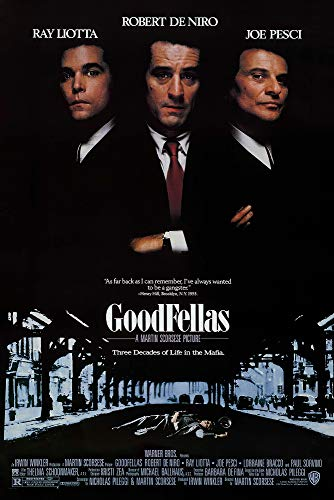 Goodfellas - Movie Poster (Regular) (Size: 24 x 36 inches)