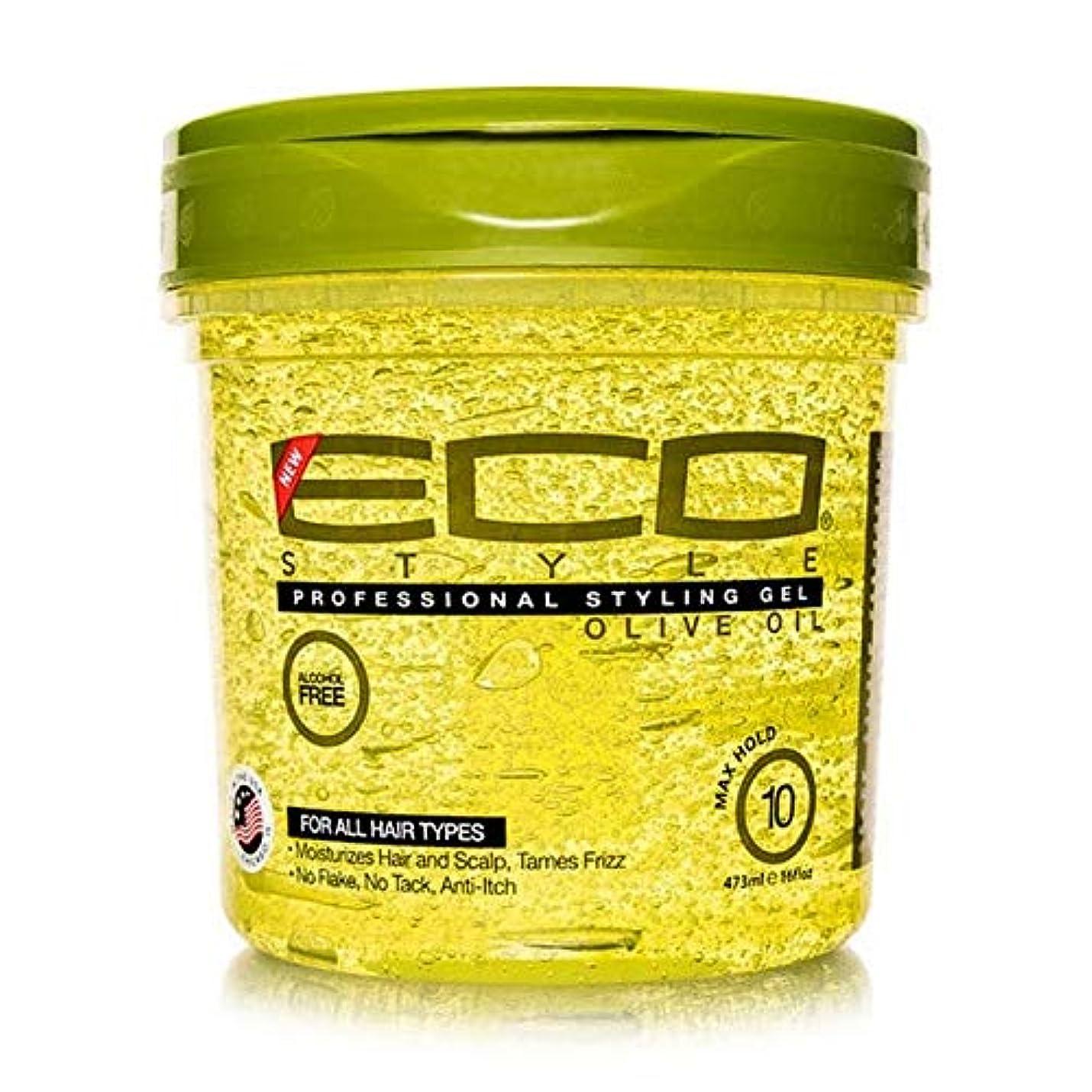 理想的一掃する狼[ECO STYLER ] エコスタイラオリーブ油スタイリングゲル473ミリリットル - ECO Styler Olive Oil Styling Gel 473ml [並行輸入品]