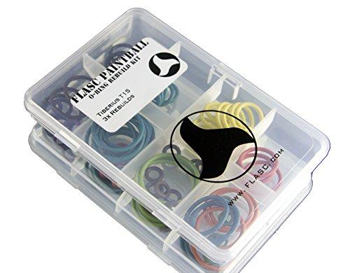 Tiberius T153x farbig Paintball O-Ring Rebuild Kit von Flasc Paintball