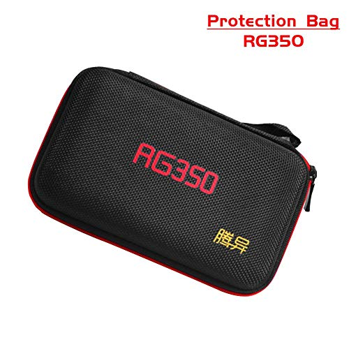 SHZONS Portable Retro Game Console Protection Bag Protective Storage Bag for RG350 Waterproof, Drop, Dustproof Game Machine Storage Suitcase