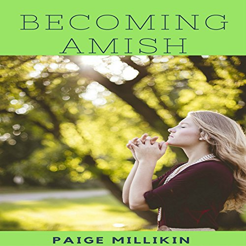 Becoming Amish audiobook cover art