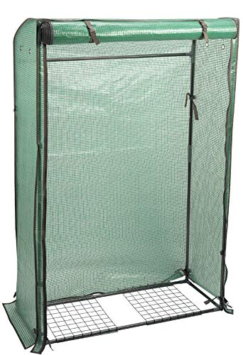 Tomato GroZone Max single Sided Gardening Plants Growing Shelter Structure Greenhouse Growbag Polytunnel