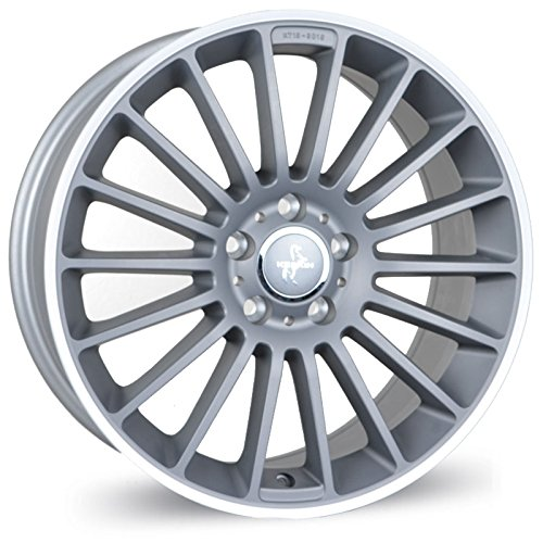 KESKIN KT15 TITAN GREY LIP POLISH 9,5x20 ET45 5.00x112.00 Hub Hole 66.60 mm - Alu felgen