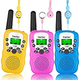Product Image of the Tintec 3 Pack Walkie Talkies, 22 Channels 2 Way Radio Toy with Backlit LCD...