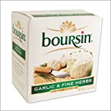 Boursin Cheese with Garlic and Fine Herbs - Gournay Cheese - 5.2oz -...