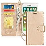 FYY Coque iPhone 8 Plus, Coque iPhone 7 Plus, [RFID Portefeuille Blocage] Fait Main Housse...