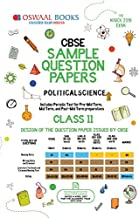 Oswaal CBSE Sample Question Paper Class 11 Political Science (For March 2019 Exam) Old Edition