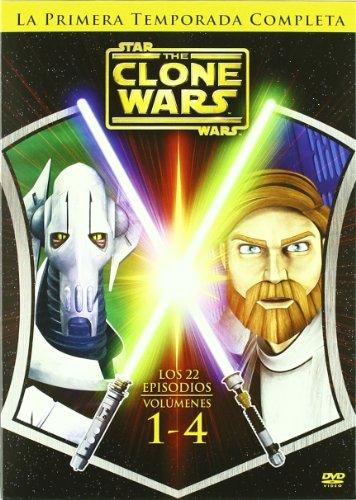 Star Wars Clone Wars : Primera Temporada Completa [DVD]