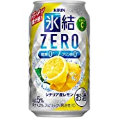 チューハイ 氷結ZERO シチリア産レモン キリン 350ml 48本 (24本×2ケース)
