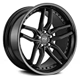 Niche M194 Methos 20x9 5x114.3 +35mm Black Wheel Rim