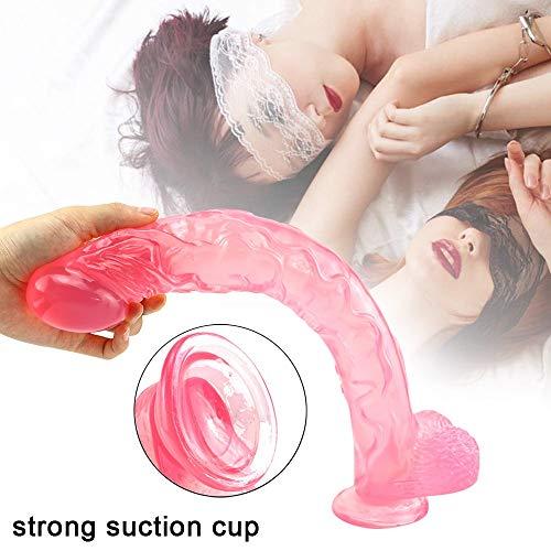 ZM HL Erproof 16.53Inch Wearable Didlo Dual Density Massage for die persönliche Spielzeug Relax erproof