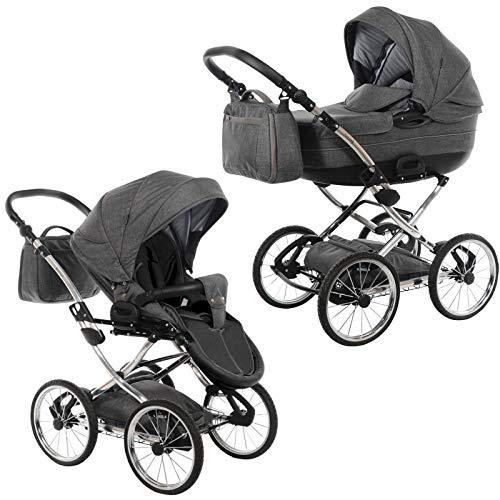 knorr-baby Kombi-Kinderwagen Precioso anthrazit