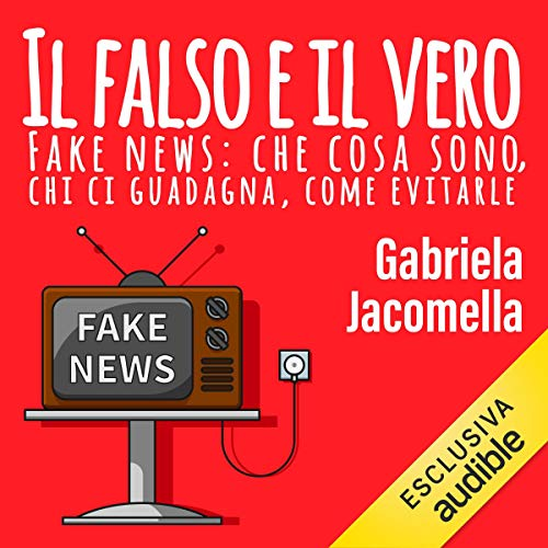 Diseño de la portada del título Il falso e il vero