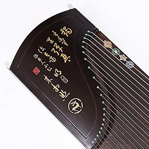 GuanXiao Hölzerner Fachmann des Guzheng-Ebenholzes, der chinesisches traditionelles Zither-nationales Orchester-Instrument beschriftet