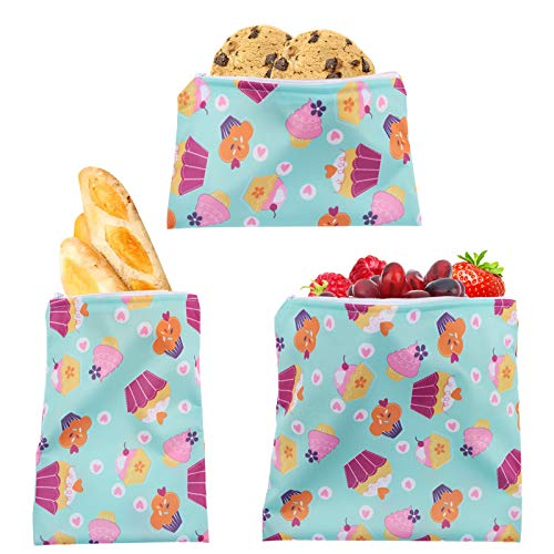 Adasea 3 PCS Bread Bags for Homemade Bread Reusable Sandwich Bag...