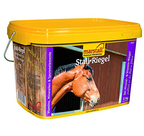 marstall Premium-Pferdefutter Stall-Riegel, 1er Pack (1 x 2 kilograms)