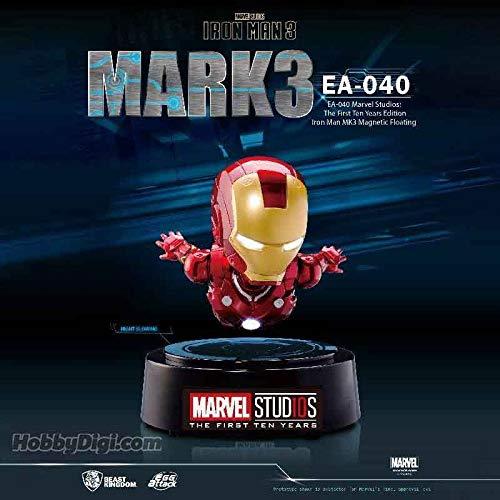 Figurine Marvel - Edition des 10 Ans Iron Man Mark 3 Flottement Magnétique