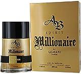Lomani Ab Spirit Millionaire Eau De Toilette Spray for Men, 3.3 Ounce