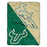 The Northwest Company South Florida Bulls 'Halftone' Micro Raschel Throw Blanket, 46' x 60' , Green
