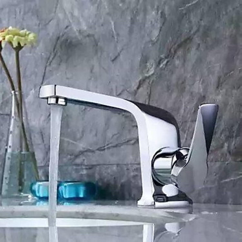 Zeitgenssisches Diffusgef mit Keramik-Beckenventil Einhand-Chrom-Waschbecken-Mischbatterieventil
