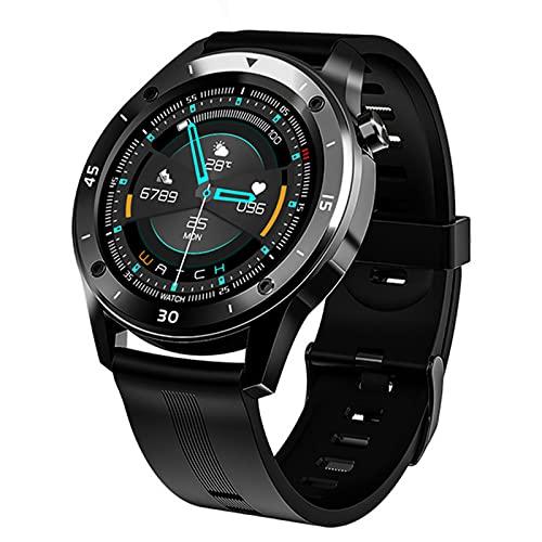 LAB F22 Smart Watch Impermeable Gran Pantalla Táctil Pantalla De OLED Mensaje Tiempo De Frecuencia Cardíaca Pulsera Inteligente Actividad Fitness Tracker Pulsera Pulsera,B