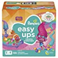 Pampers Easy Ups Pull On Disposable Potty Training Underwear for Girls and Boys, Size 5 (3T-4T), 66 Count, Super Pack (Packaging May Vary)