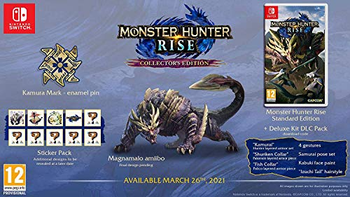 Monster Hunter Rise - Collector's Edition [Nintendo Switch]