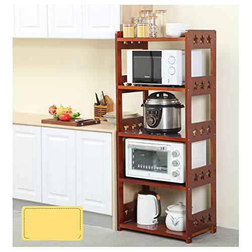 Opslag Rack Keuken Counter Keuken Pan Rack Vloer Staande Magnetron Oven Rack Elektrische Opslag Rekkast stijlnaam Singlelayer Kleur