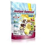 Quamtrax Gourmet Avena Instantánea en polvo, Sabor Vainilla - 2000 gr