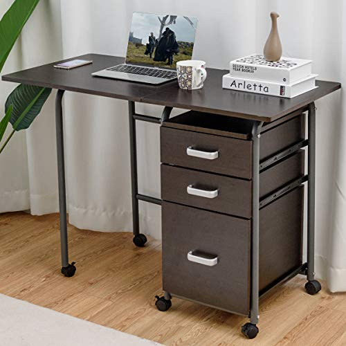 A convertible desk can help you have a work from home space in a small home