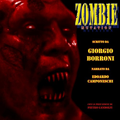 Zombie Mutation audiobook cover art