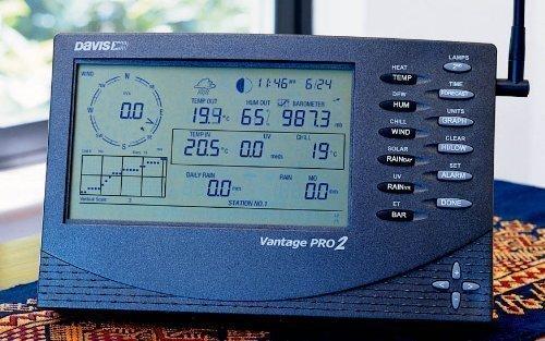 Davis 6163EU Noir Station météo numérique - Stations météo numériques (Noir, 528 mm, 239 mm, 406 mm, Synthétique ABS)