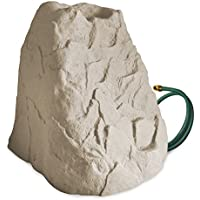 Rescue Waterstones 60 Gal Rain Barrel with Downspout Diverter