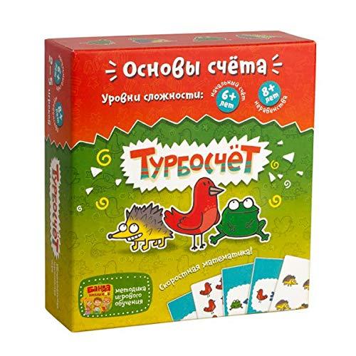 HurriCount Russian Turboschet - Турбосчет настольная игра Banda Umnikov