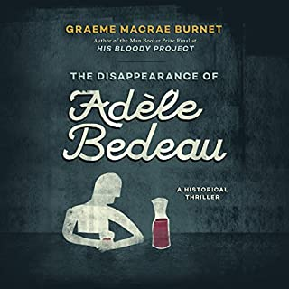 The Disappearance of Adèle Bedeau audiobook cover art