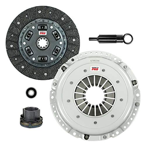 ClutchMaxPRO Performance Stage 2 Clutch Kit Compatible with 84-91 BMW 325 325 525 528 2.5L 2.7L M20B25 M20B27 E28 E30 E34