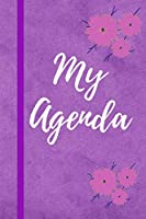 My Agenda: Modern Cover And Interior Diary For Kids And Adults, Interior With Lines, Modern Design