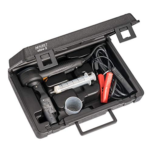 Hazet Bremsflüssigkeits-Tester, 3teilig im Kunststoffkoffer 4954-2