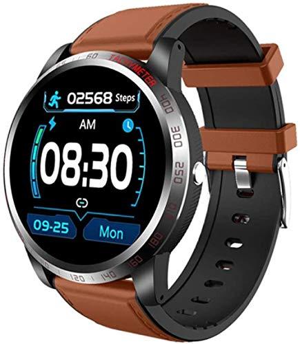 Reloj inteligente W3 ECG + PPG HRV presión arterial monitor de ritmo cardíaco monitor de actividad para hombres s IP67 impermeable reloj deportivo D