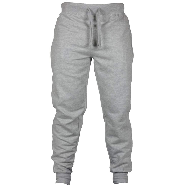 YOcheerful Mens Pant Jogger Pants Autumn Gym Sports Trousers Running Sweatpants Basketball Sportswear