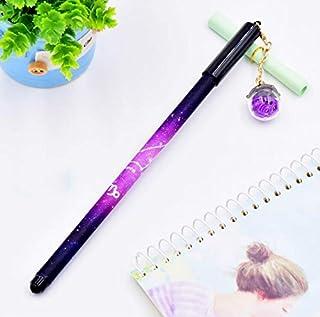 Royare of School Supplies 3Pcs/Set Constellation Gel Pen Kit Simple Signing Pen Student Stationery Supplies (Capricorn)