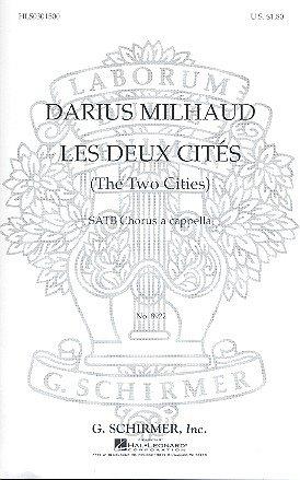 Elegie from Les deux cités: for mixed chorus a cappella