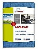 ALCLEAR 950017 Panno Pulente Antibatterico, Dimensioni: 17 x 23 cm, Blu