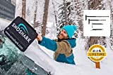 SnoShark Snow & Ice Removal Tool - Extends to 39' - Collapsible for Convenient Storage - Heavy Duty & Durable...